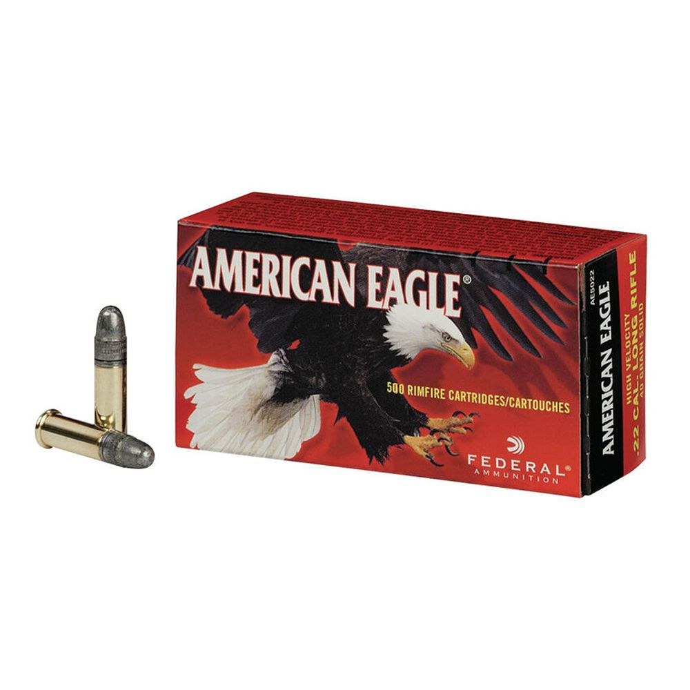 CARTUCHO FEDERAL CAL. 22 LR SOLIDO LEAD