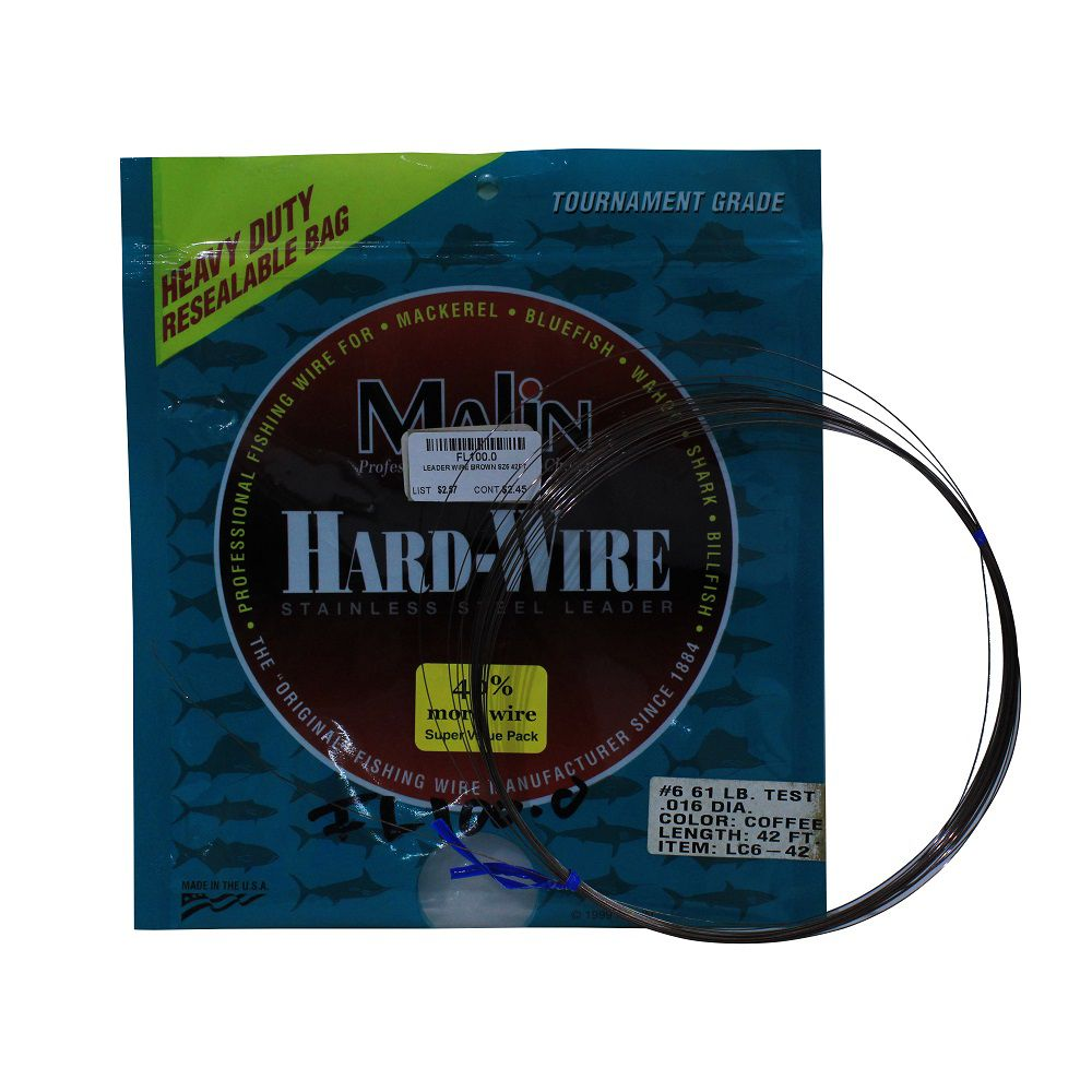LEADER WIRE BROWN SZ6 42FT