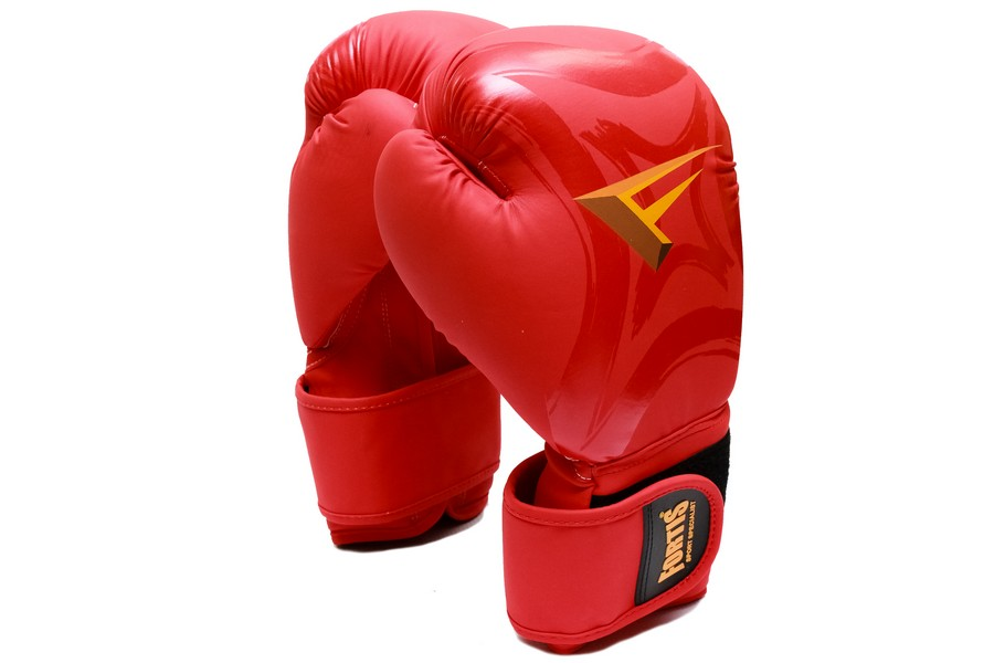 GUANTE BOXEO 14OZ ROJO FOR-8000-14-RD