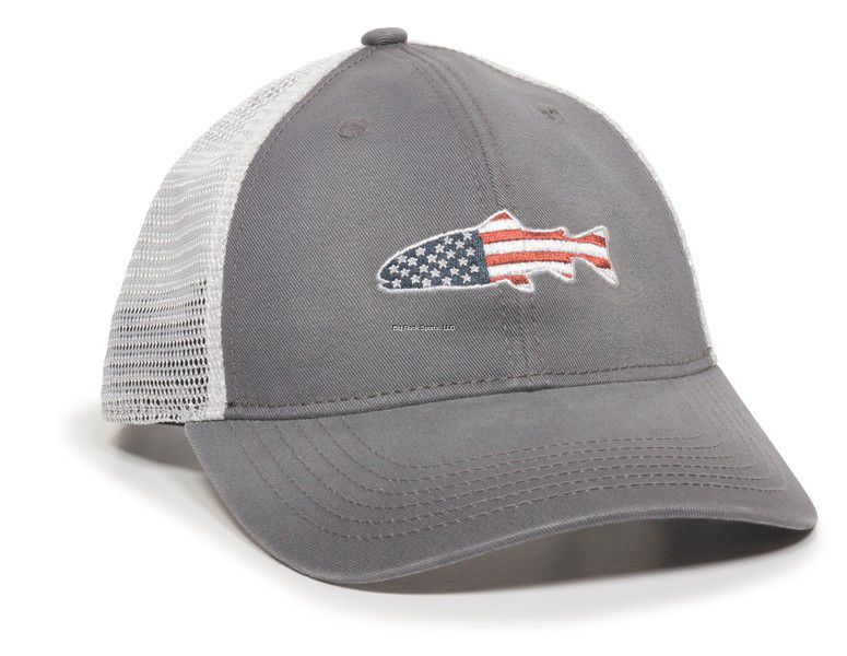 GORRA OUTDOOR KEEPER CHARCOAL/WHITE 0788-1262
