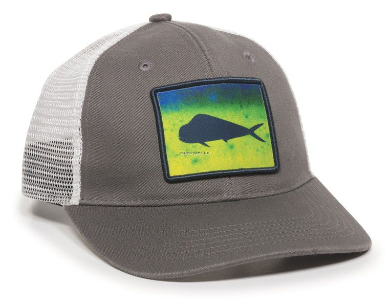 GORRA OUTDOOR MAHI GREY/WHITE 0788-1257