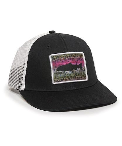 GORRA OUTDOOR RAINBOW BLACK/WHITE 0788-1260