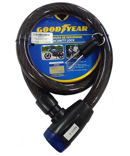 CABLE SEGURIDAD P/MOTO GOODYEAR 991-01108